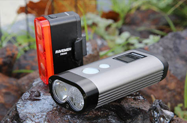 PR1600&TR300 Bike Light review from Matosvelo