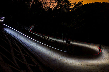 The fun of night riding and photography